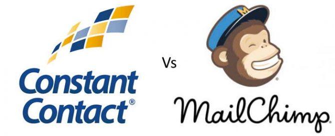 constant contact vs mailchimp